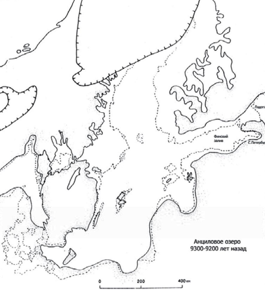Анциловая стадия Балтийского моря